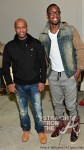 Alex Gidewon poses with Dwayne Wade