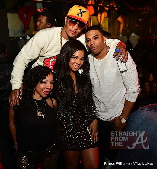 and his wife Tiny joined celebrity friends Nelly & Ashanti for Ashanti