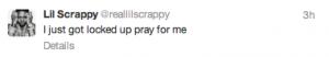 Lil Scrappy Tweet