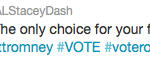 stacey dash romney tweet
