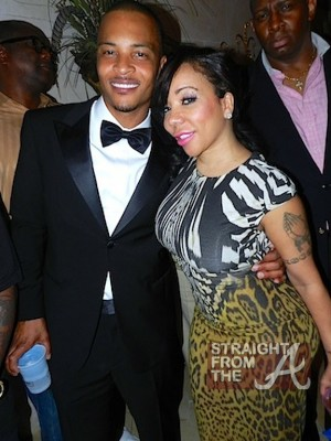 TI and Tameka Tiny Cottle Harris