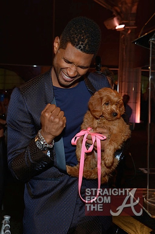 Who is usher dating may 2012