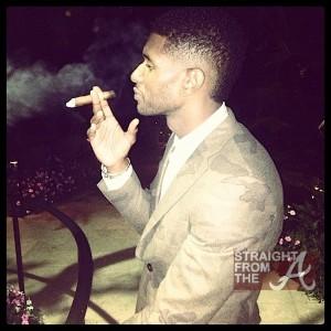 Usher Raymond Cigar