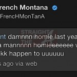french montana 50 tweet