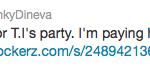 funky dineva tweet
