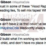 keyshia cole gucci mane tweets