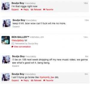 souljaboy tweets