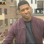 usher on EXTRA-10