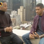 usher on EXTRA-12