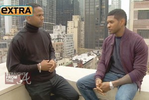 usher on EXTRA-7