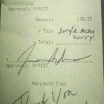 FOR DISCUSSION: 'Single Mother' Leaves WORST Tip Ever! Restaurant Receipt Goes Viral… [PHOTO]