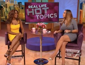 Kenya Moore Wendy Williams Show SFTA 2