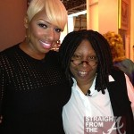 Nene Leakes Whoopi Goldberg The View SFTA