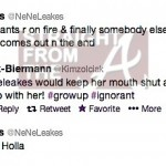 Nene Kim Tweets RHOA 5