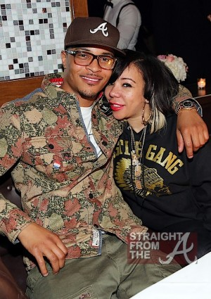 T.I. and Tiny at Moet Rose Lounge Miami
