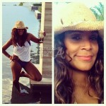 SPOTTED: Tameka Raymond Hits Beach For Thanksgiving + Usher Throws Cinco ANOTHER 5th Birthday Bash… [PHOTOS]