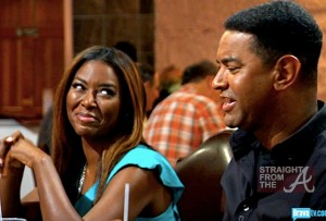 Walter Jackson Kenya Moore side-eye