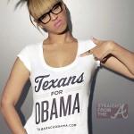 beyonce texas for obama