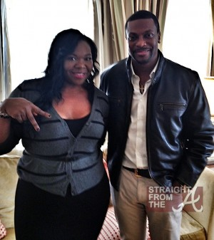 michelle atlien brown chris tucker straightfromthea