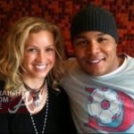 Nicole Derick and Andruw Jones