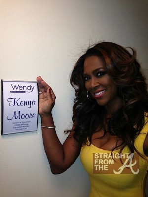 Kenya Moore Wendy Williams