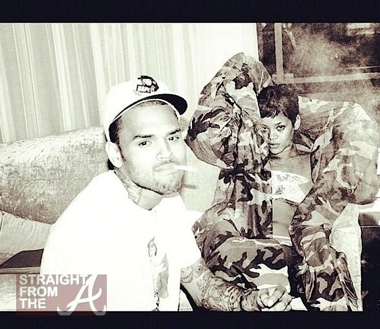 Chris Brown Rihanna SFTA 1