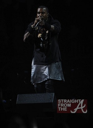 Kanye West Leather Skirt 121212 4