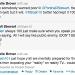 Michelle Brown atlien kordell stewart tweet
