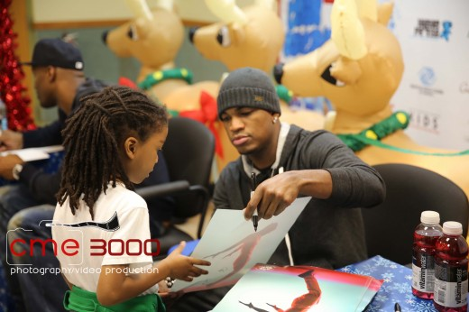 NE-YO- MAYOR KASSIM REED-Deon Grant  6th Annual Giving Tour54 - CME 3000