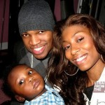 Ne-Yo-Jessica-and-son