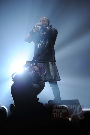 kanye west skirt 121212 benefit 3