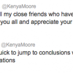 kenya moore tweet 2