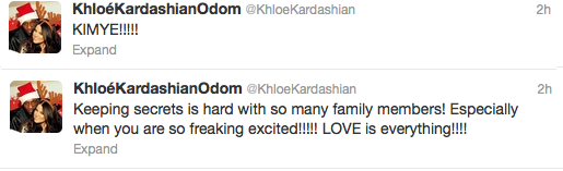 khloe tweet