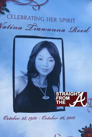 natina reed funeral program