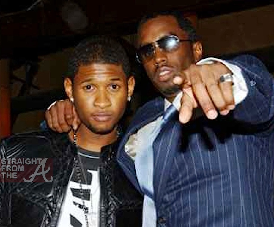 usher and diddy relationship