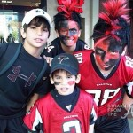 Atlanta Falcon Fan Photos SFTA-2