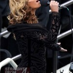 Beyoncé Lip Synced National Anthem At Inauguration… [PHOTOS + VIDEO]