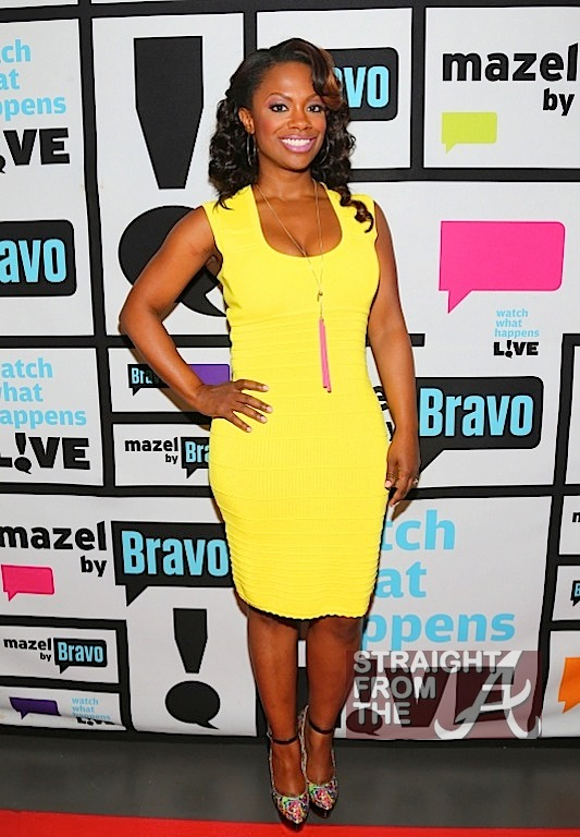Kandi Burruss Yellow Dress