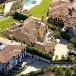 Kanye Kim Kardashian Mansion-13
