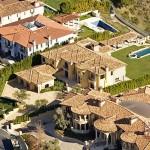 Kanye Kim Kardashian Mansion-16