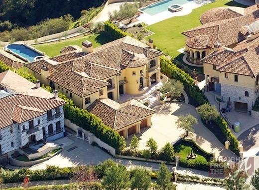 Kanye Kim Kardashian Mansion-3