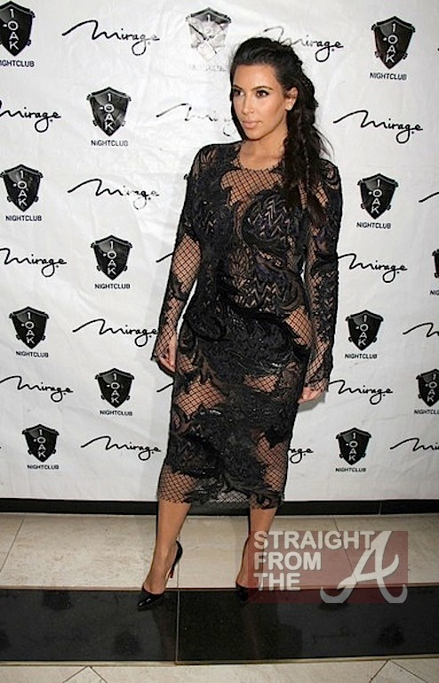 Kim Kardashian Kanye West New Years 2013-1