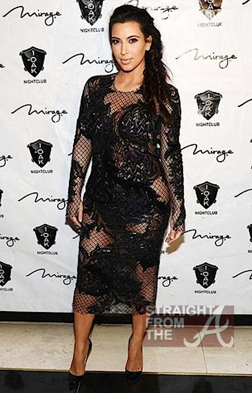 Kim Kardashian Kanye West New Years 2013-5