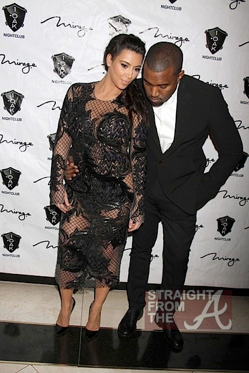 Kim Kardashian Kanye West New Years 2013-9