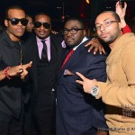 Mario, Devyne Stephens, guest, and Lil Ronnie