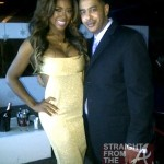 Kenya Moore &amp; Fan New Years 2013