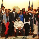 So So Def family with Mayor Reed in the Mayor's Office rszd