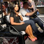 Toni Braxton on 'Extra' with Mario Lopez -1