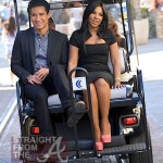 Toni Braxton on &#039;Extra&#039; with Mario Lopez -6