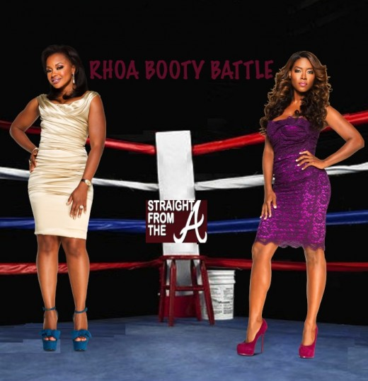 phaedra parks kenya moore booty battle efta